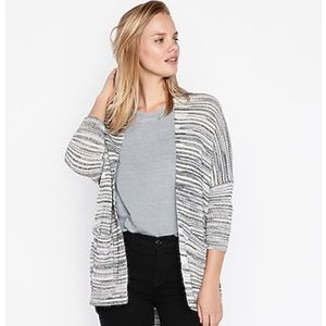 NEW Express Drop Shoulder Shaker Knit Cardigan M